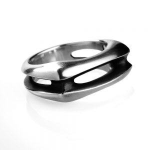 Silver Lozenge ring