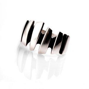 Silver Shard ring